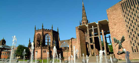 Coventry Cathedral by Day