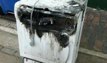 Electrical Appliance after fire
